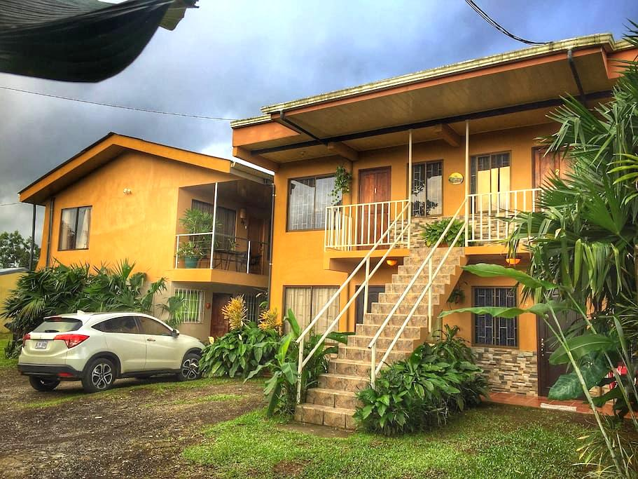 #7 Cozy Furnished Apt with A/C - La Fortuna - Apartament