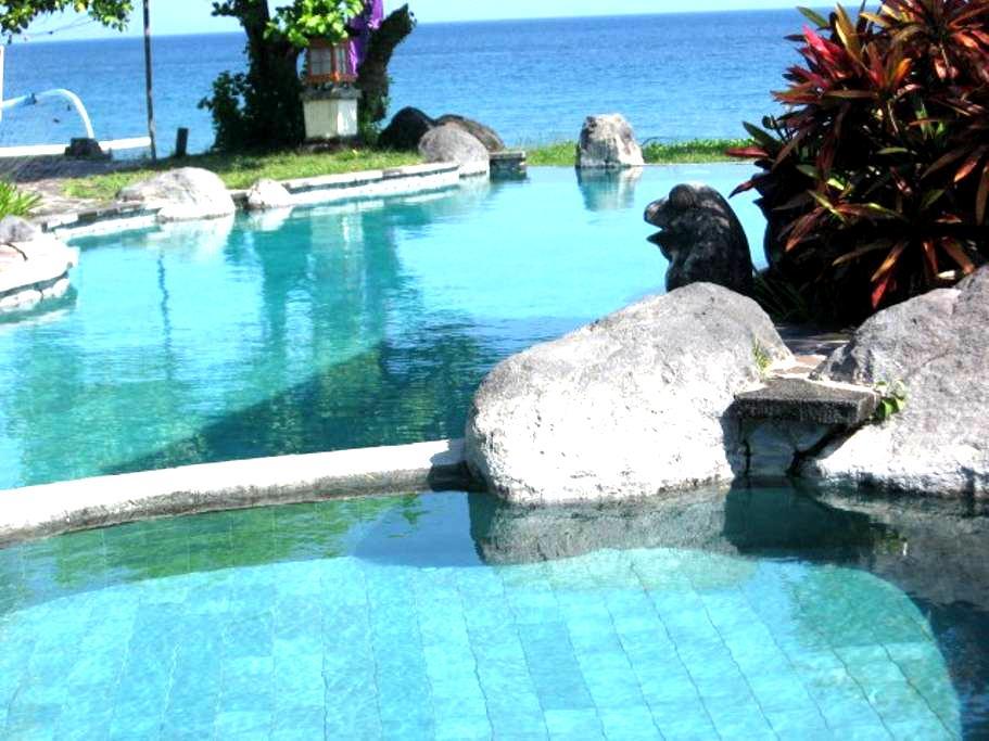 Abalone Resort Sea side 2 Raum Appartment ezv - Manggis - Rumah Tamu