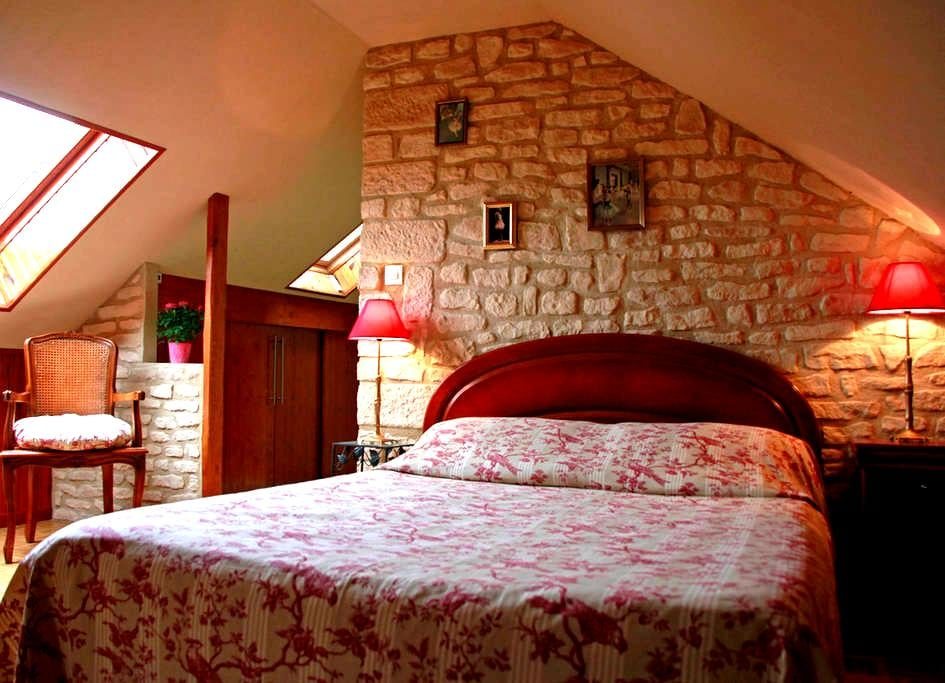 chambre privée. - Maintenon - Bed & Breakfast