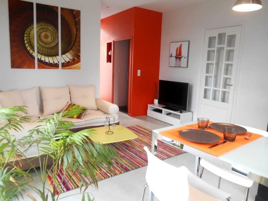 Appartement indépendant 50 m² - Guéret - Apartamento