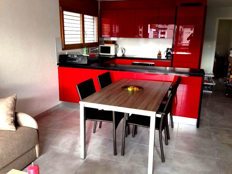Neue 3 Zimmer Wohnung in Leukerbad - Leukerbad