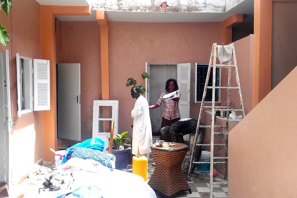 chambre dhotes  a la medina de dakr - Dakar - Bed & Breakfast