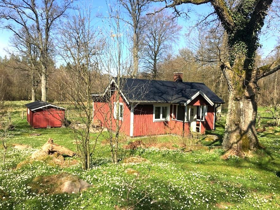 Small house on the countryside - Ljungbyhed - Rumah