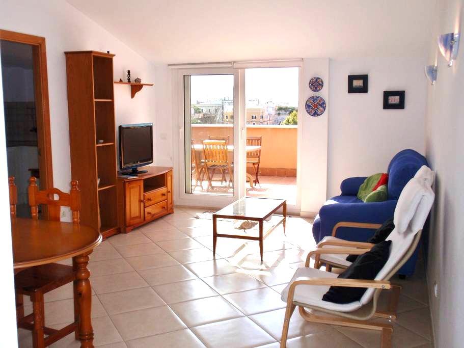 Centrico, terraza soleada y magnificas vistas - Ciutadella de Menorca - Departamento