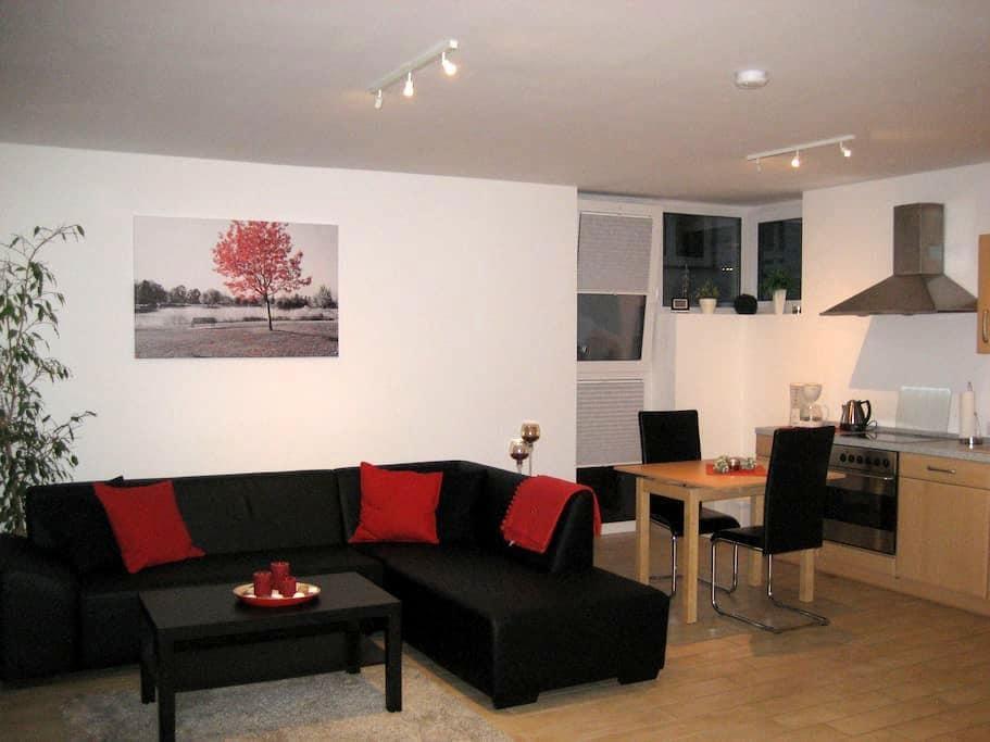 Schöne 65qm Wohnung in Wilnsdorf OT Rudersdorf - Wilnsdorf - Apartemen