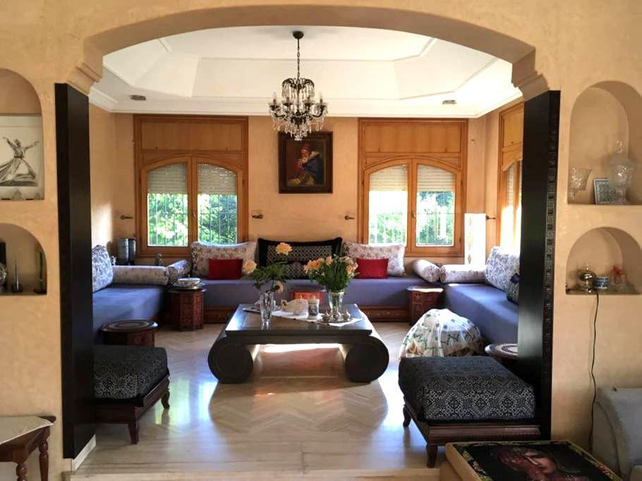 Chaleureux Riad Familial au cœur de l'Oasis - Casablanca - Villa