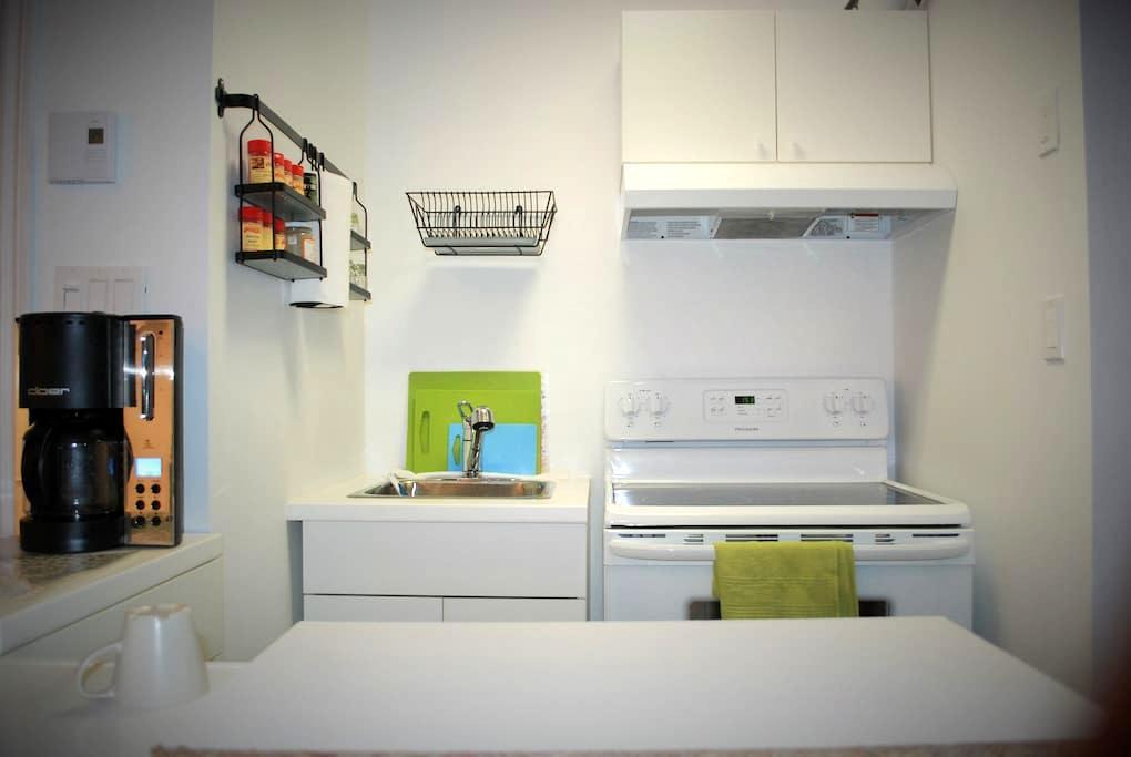 Open Studio, Calm and private - Longueuil - Apartamento