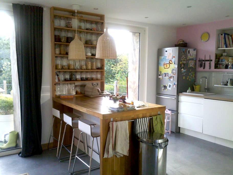 Morlaix, chambre et petit déjeuner - Morlaix - Casa