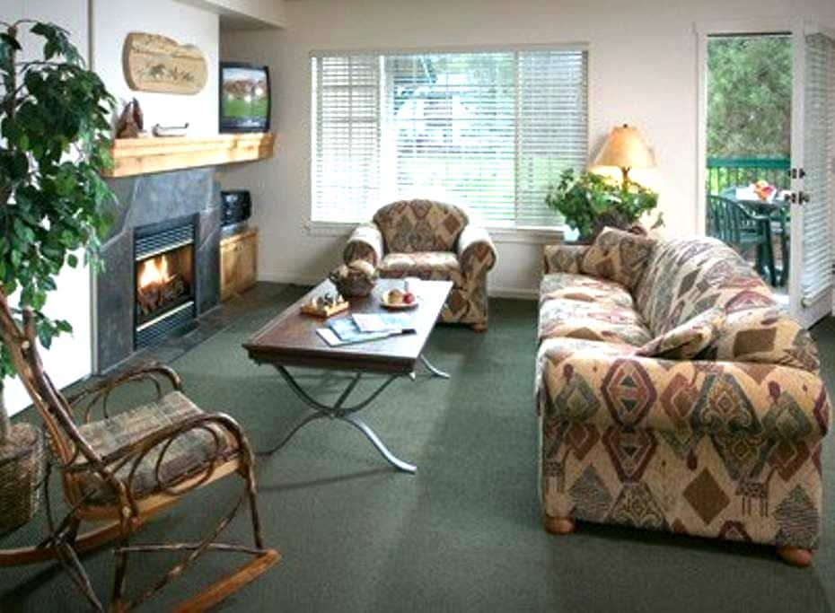 Running Y 2BR #3 (FREE WiFi / NO CLEAN FEE) - Klamath Falls - Kondominium