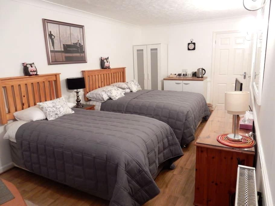 Private triple en-suite annexe - Eastbourne - Bed & Breakfast