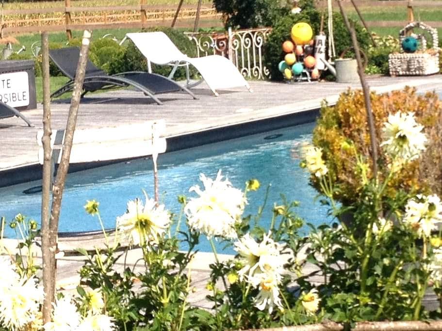 Maison de charme en basses vallées - Soulaire-et-Bourg - Hus