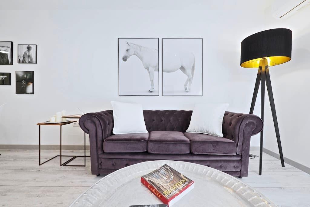 Luxury 2Br Designer Apartment - Barcelona - Lakás