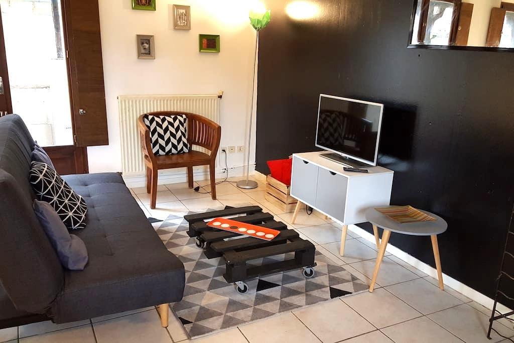Appartement de charme - centre historique - Figeac - Lägenhet