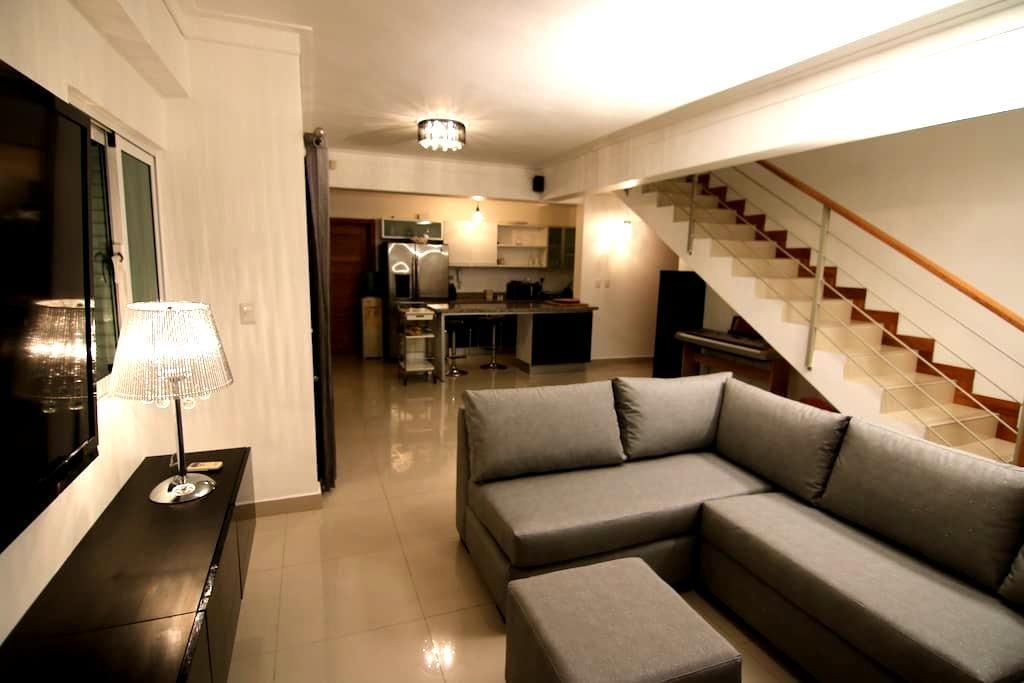 Habitación privada de lujo en Penthouse céntrico - Σάντο Ντομίνγκο