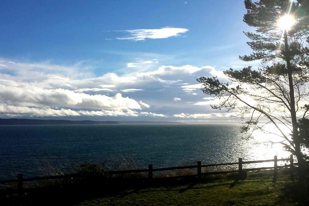 Olympic Peninsula Waterfront Home @theFishDoor - Marrowstone