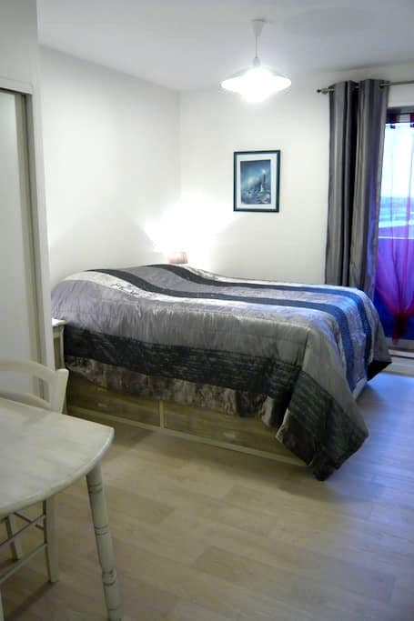 Private bedroom 10m² in the heart of Amiens - Amiens - Apartment