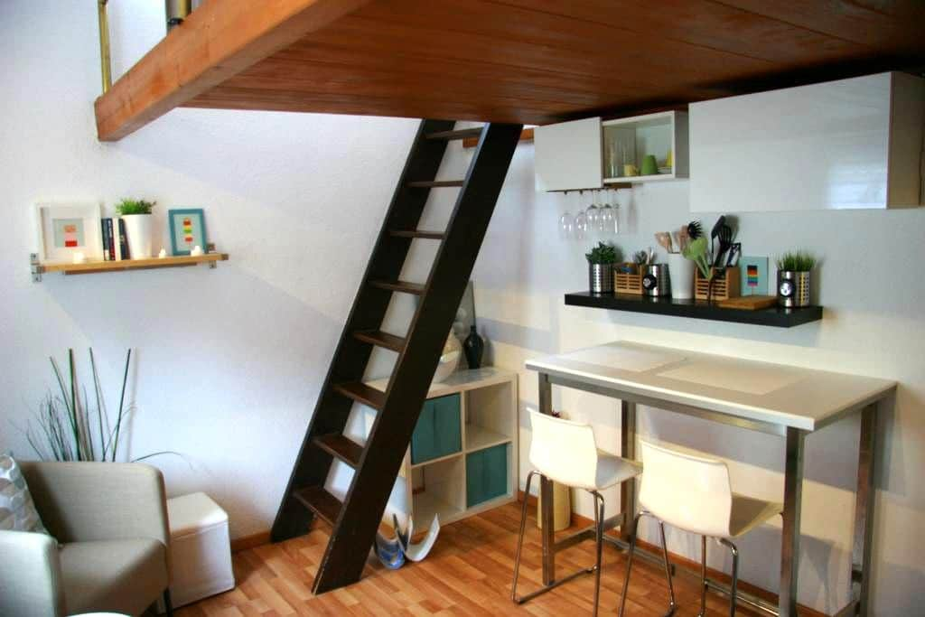 Central nice Studio close to old town Baden&Zurich - Wettingen - Huoneisto