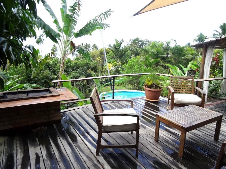 Villa de charme  à 100 m de la plage sur Poindimié - Poindimie