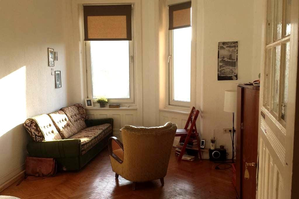 Cosy room in a cool flat - close to central city - Hamburg - Apartment