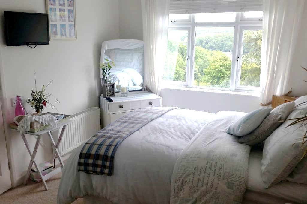 Cosy en-suite room with parking - Fowey - Гестхаус