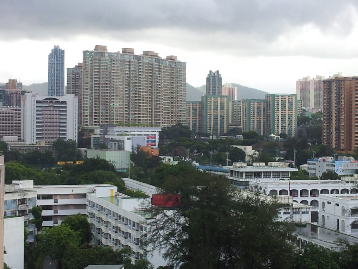 Full view of TST out of your window