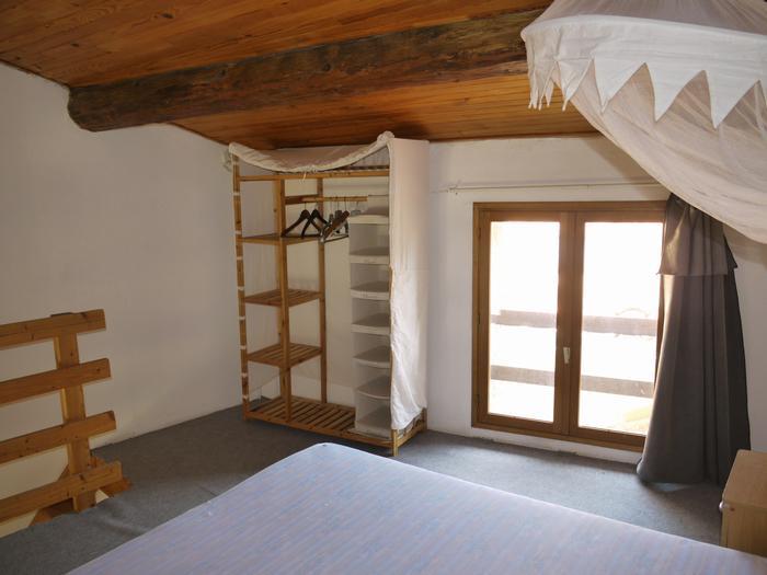 the room on the mezzanine with wardrobe