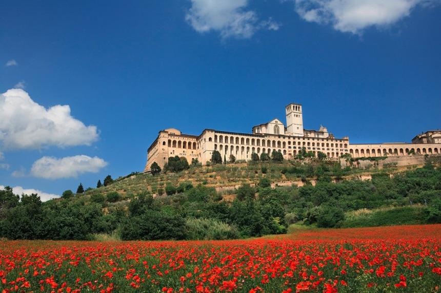 Assisi tra Roma e Perugia!!!