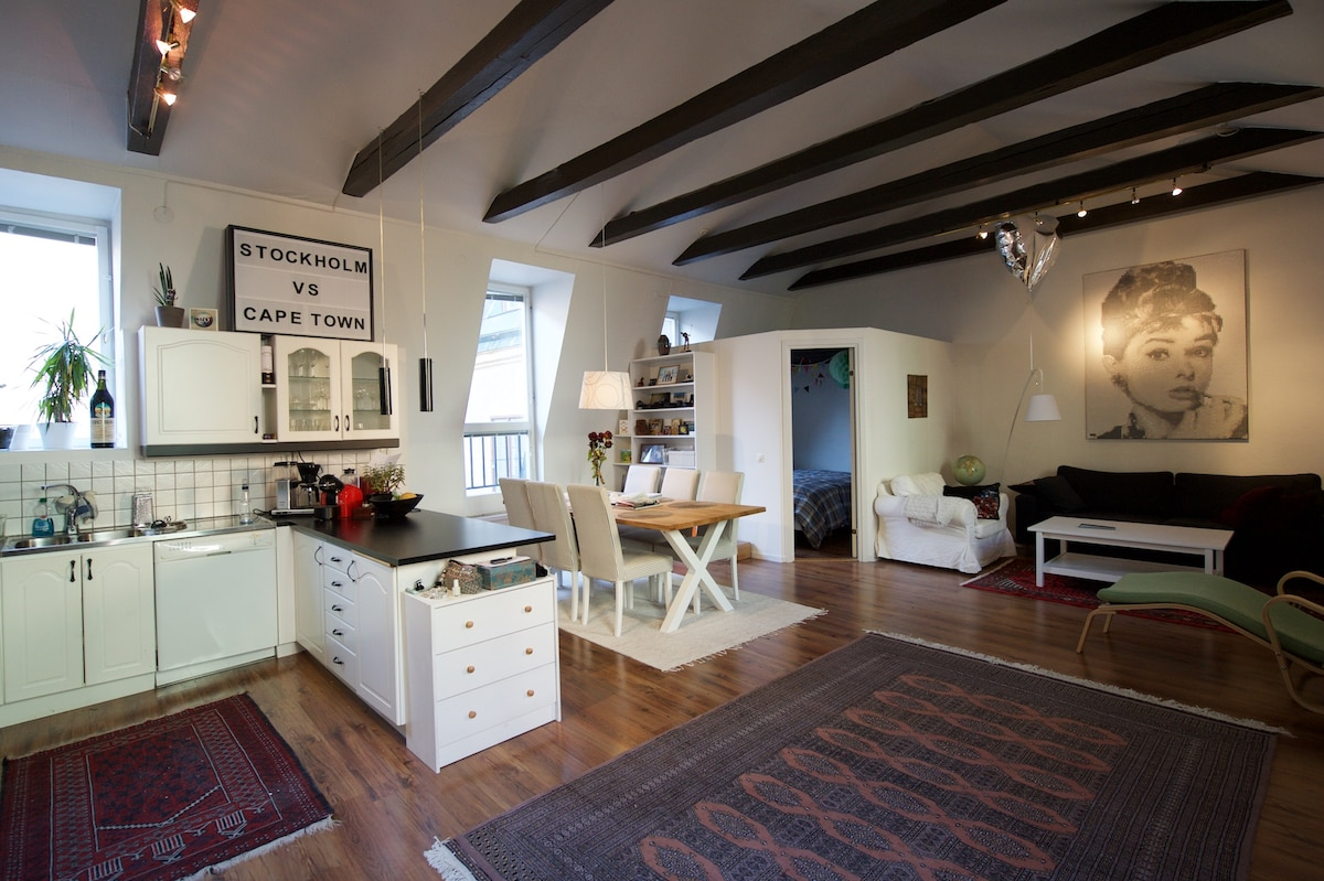 Amazing loft apartment in Old Town