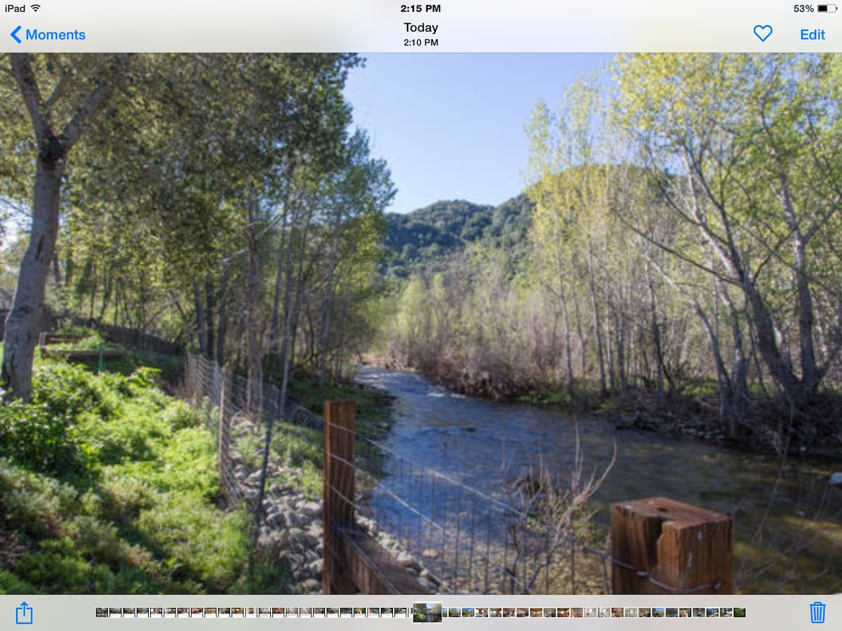 The Carmel River Couple's Retreat