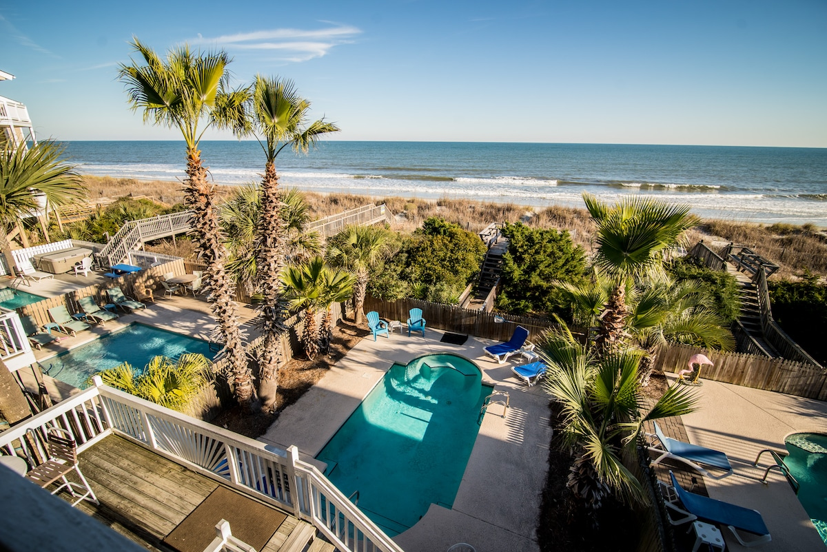 Oceanfront,Private Pool,4BR,3Bath