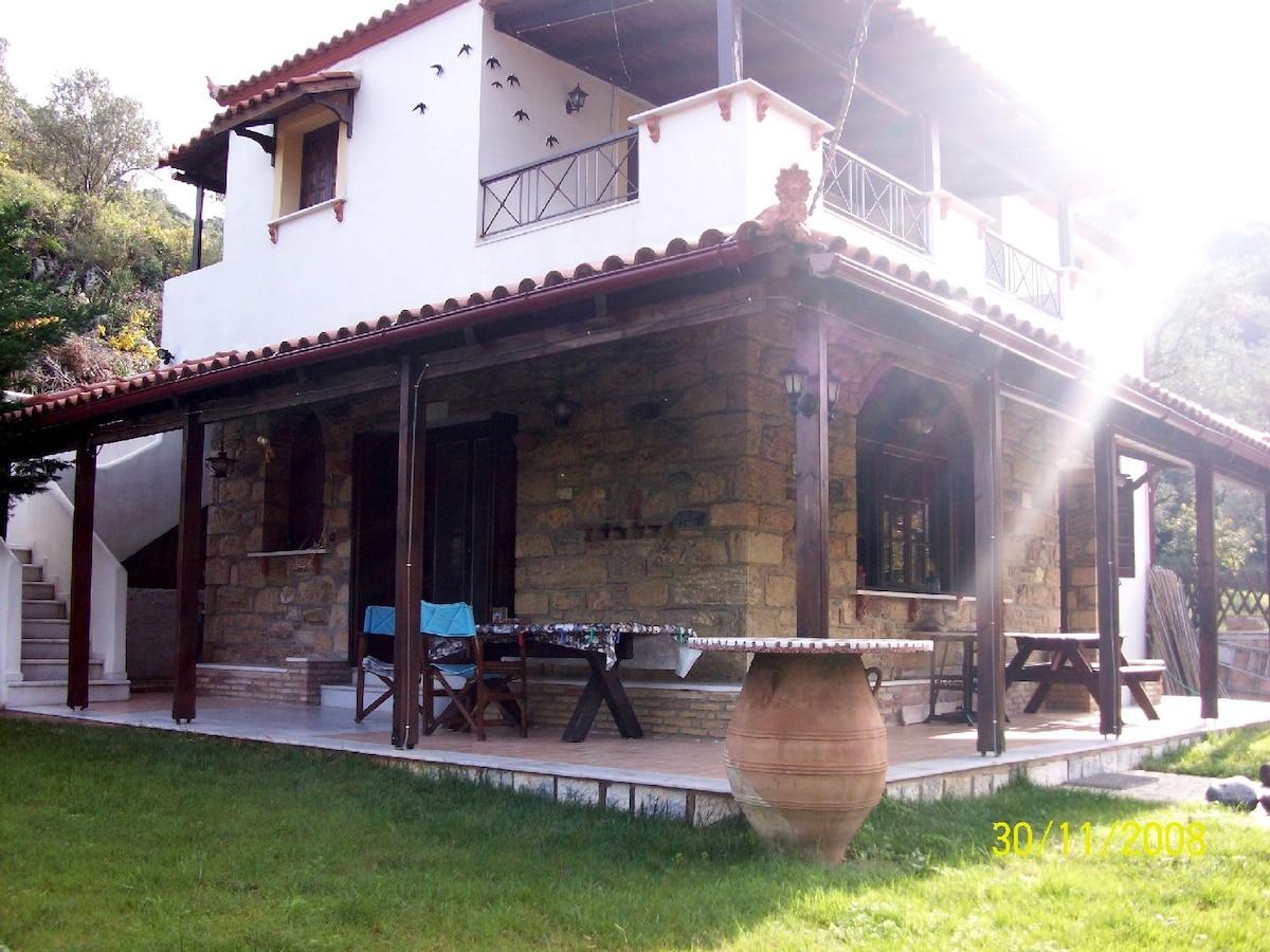 lovely house in Evia