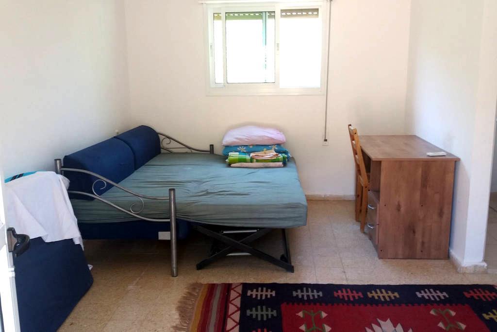 nice studio apartment with big Garden - Lotem