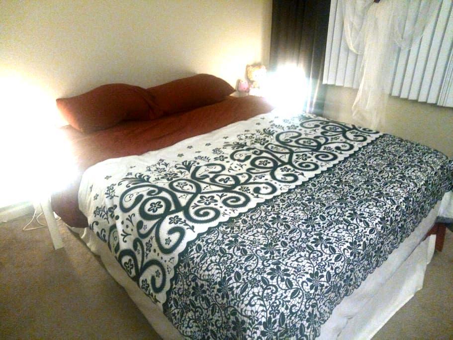 Mountain View Bedroom 125 mBit WiFi - Sunnyvale - Lägenhet