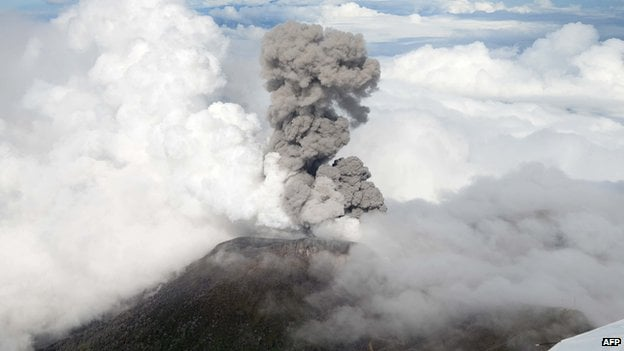 Turrialba has been more active than in many years.