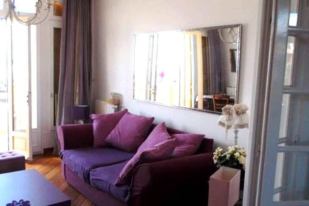Bel Appartement, front de mer - RDC - Mers-les-Bains - Apartamento