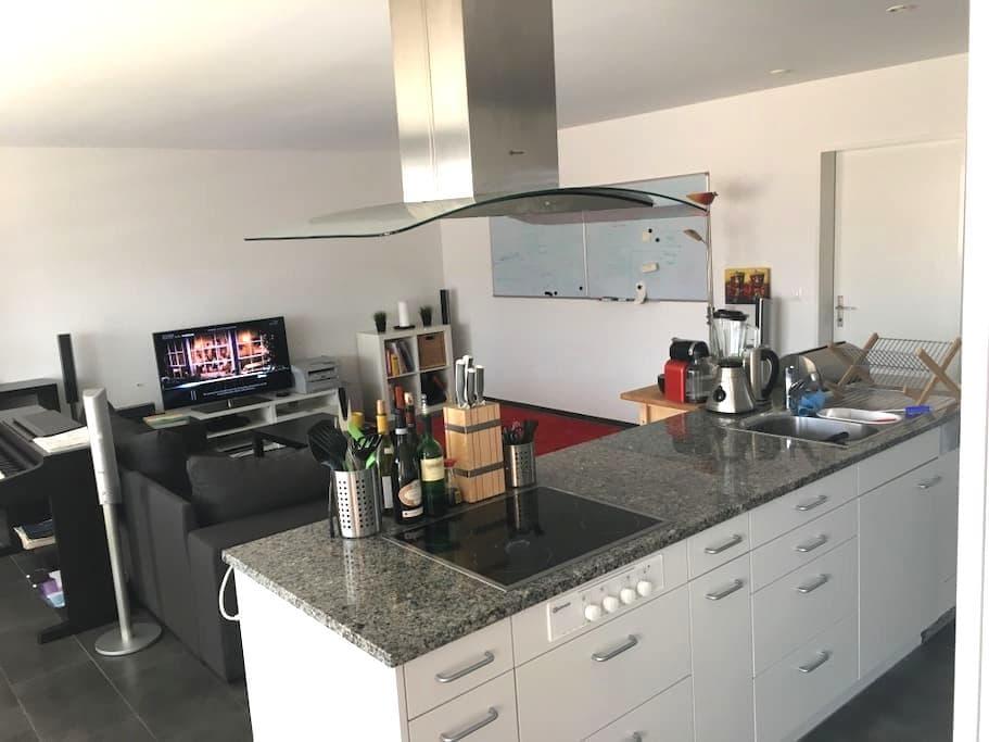 Moderne Wohnung in Winterthur nahe Flughafen ZH - Winterthur - Apartmen