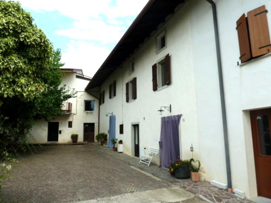 Accogliente casetta con giardino  - Cividale del Friuli - Haus
