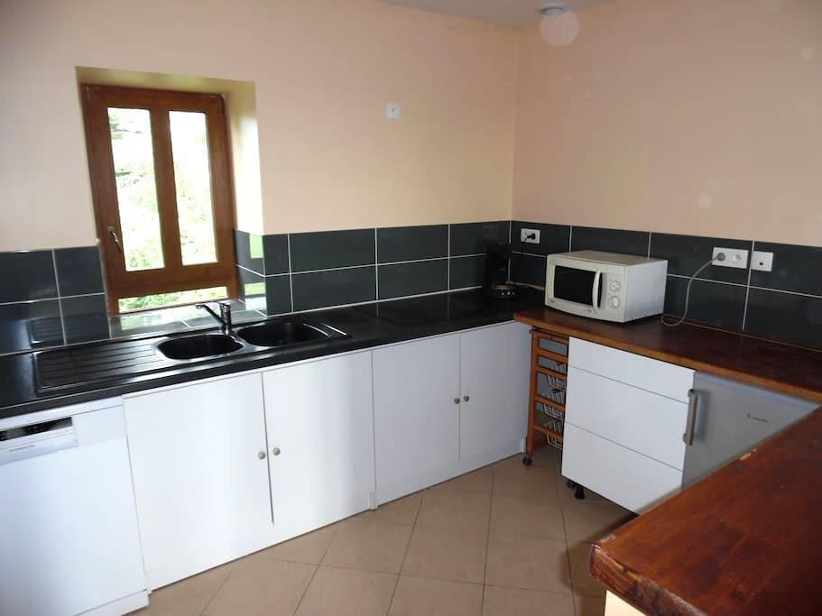 Appartement indépendant calme et confortable en bourguogne Sud - Perreuil - Apartment