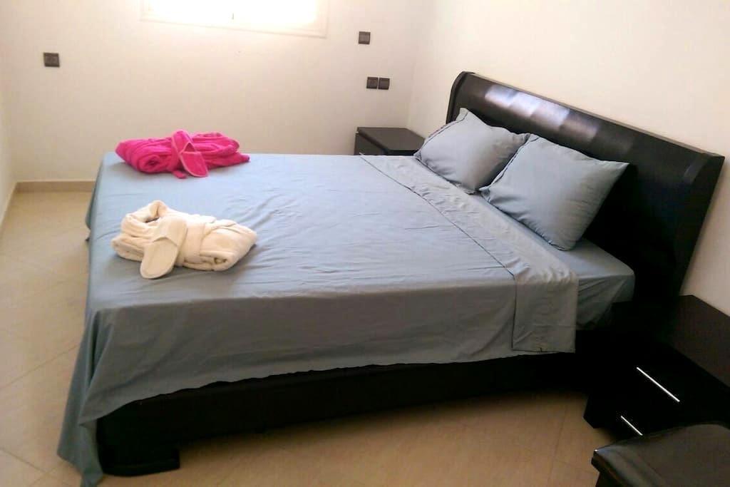Appartement chic bien équipé - Nouasseur - Huoneisto