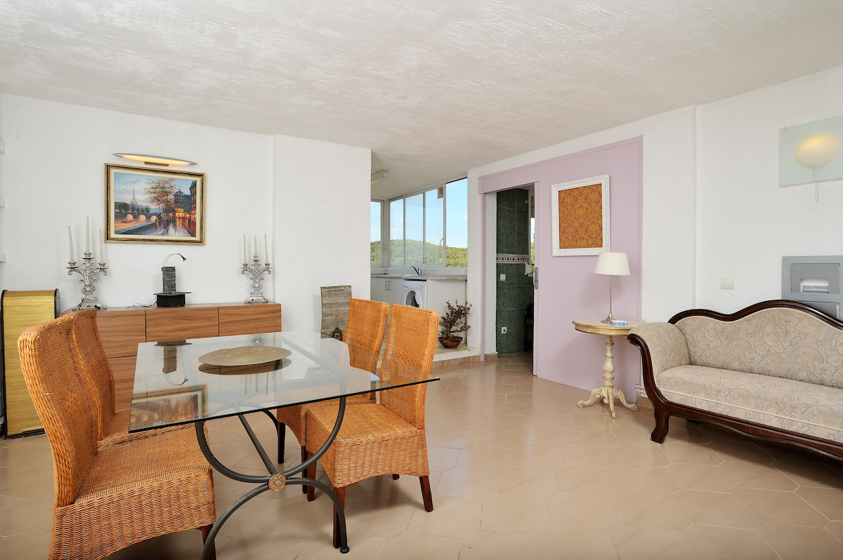 SITGES OFFER, POOL SEA AND MOUNTAIN
