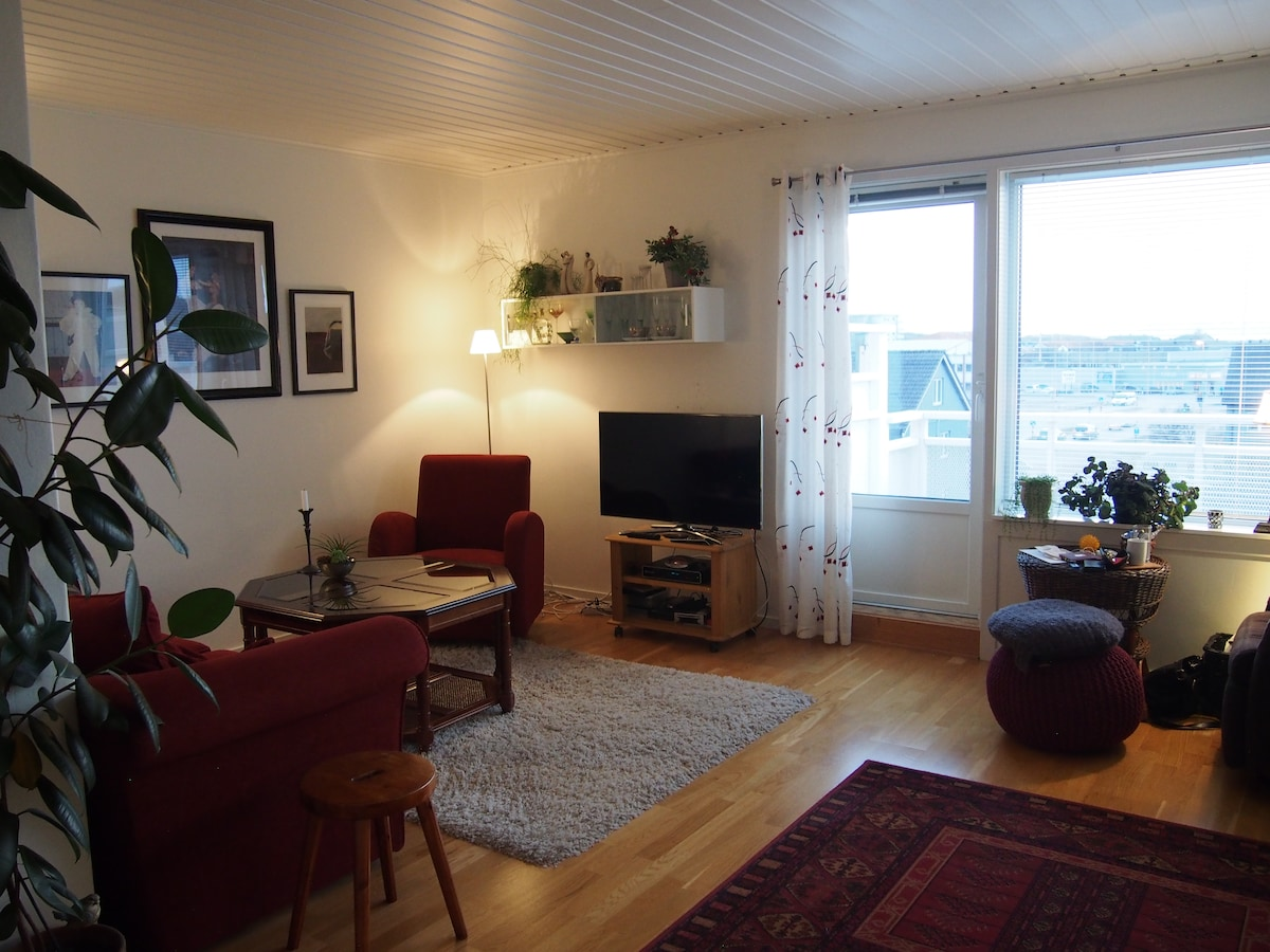 Nice two bedroom loft appartment.