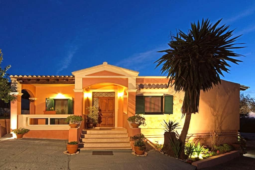 Villa Pelekas with pool & sea view - Pelekas/ Corfu