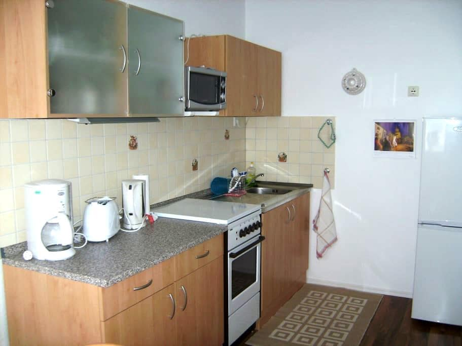Wohnung 48qm,komplett eingerichtet - Zeulenroda-Triebes - อพาร์ทเมนท์