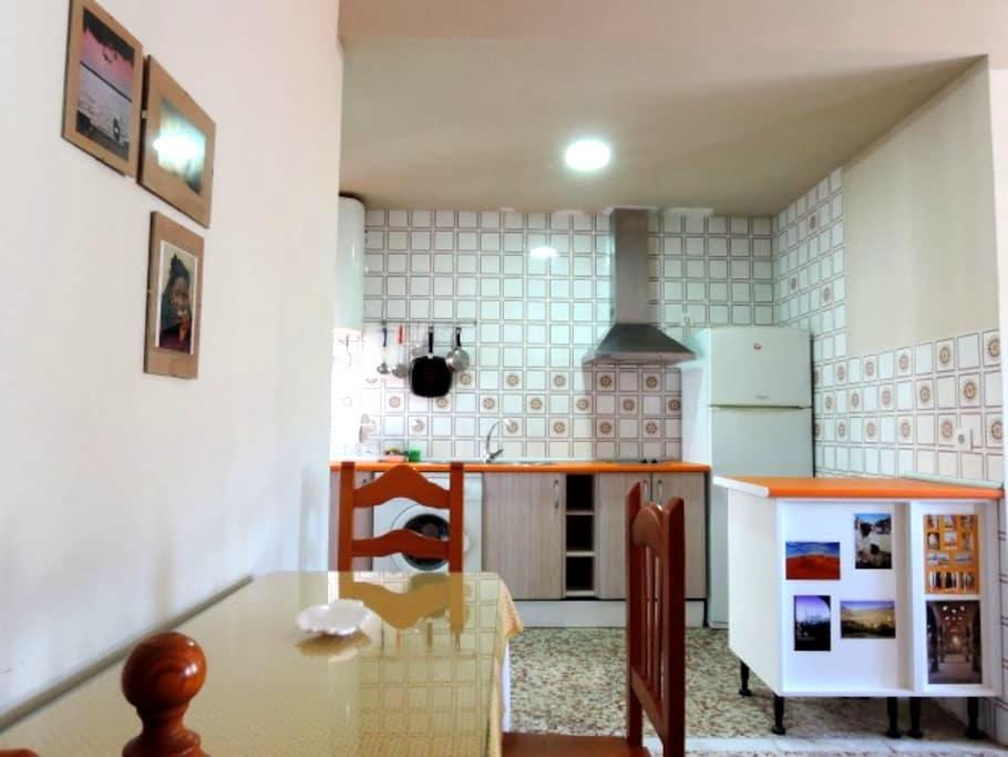 Apto, El Sol: ideal para familias - 阿尔科斯-德拉弗龙特拉 (Arcos de la Frontera) - 公寓