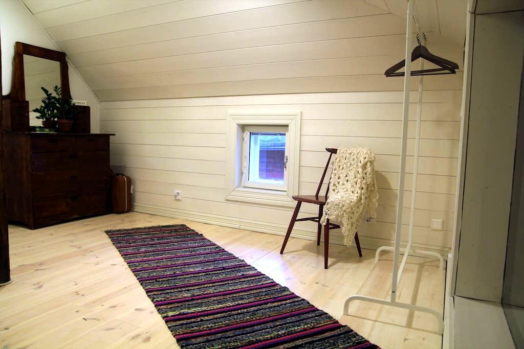 Cozy room at attic apartment in Old Rauma - Rauma - Casa