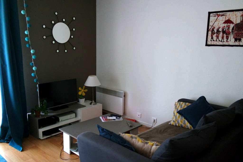 Grand studio lumineux avec balcon - Le Vésinet - Lejlighed