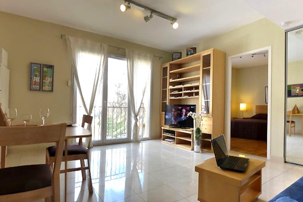 Beautiful 2-room apartment with balcony - Catalans - Marselha - Apartamento