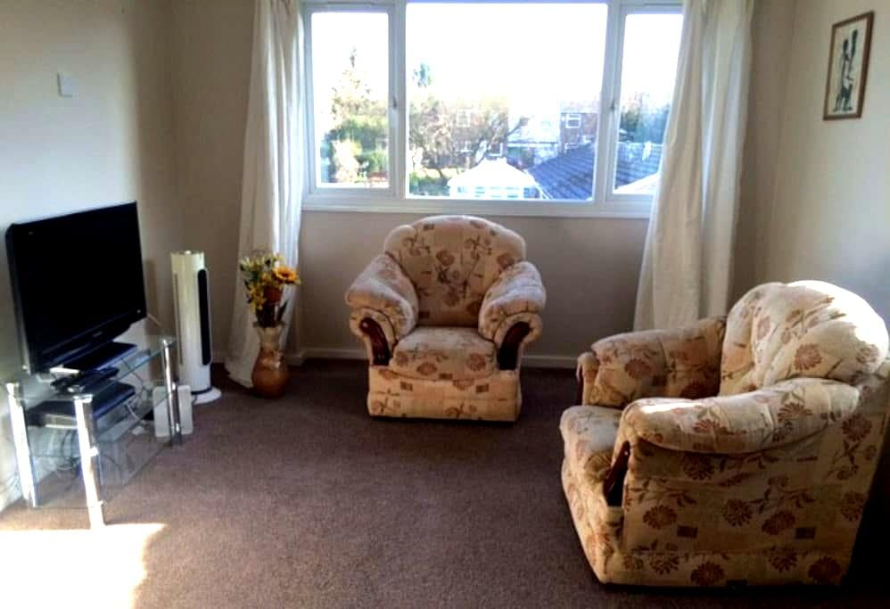 Cosy Spacious Flat, Superfast Wifi, Free Parking. - Stevenage - Byt