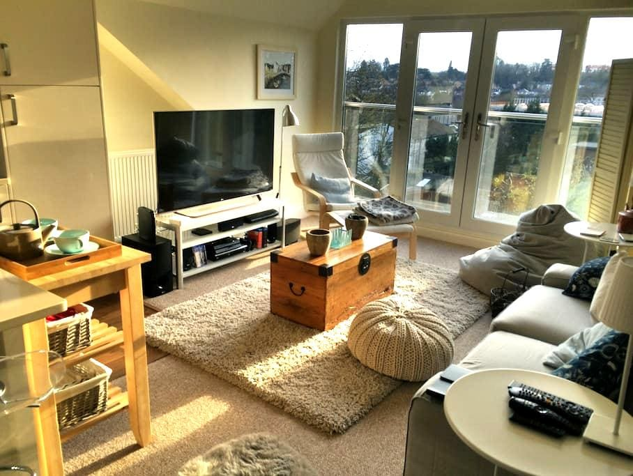 Modern light penthouse apartment - Hemel Hempstead