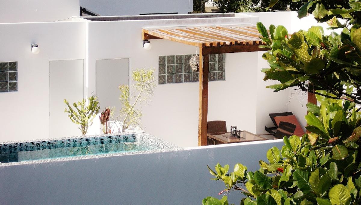 CASA NAAJ 3: Terrace and pool